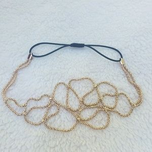 3 for $15💚 Gold Headband